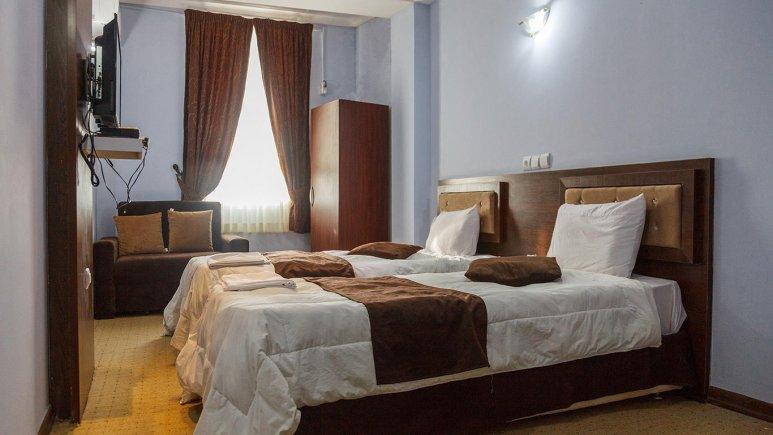 هتل کیمیا 4 قشم اتاق دو تخته تویین