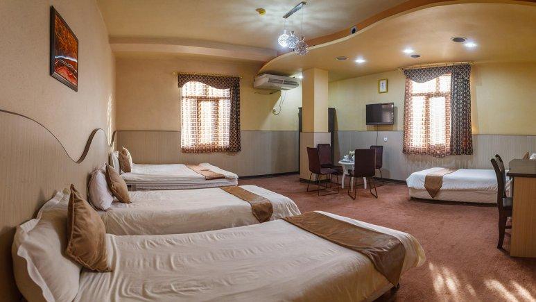 هتل مارینا 2 قشم اتاق پنج  تخته