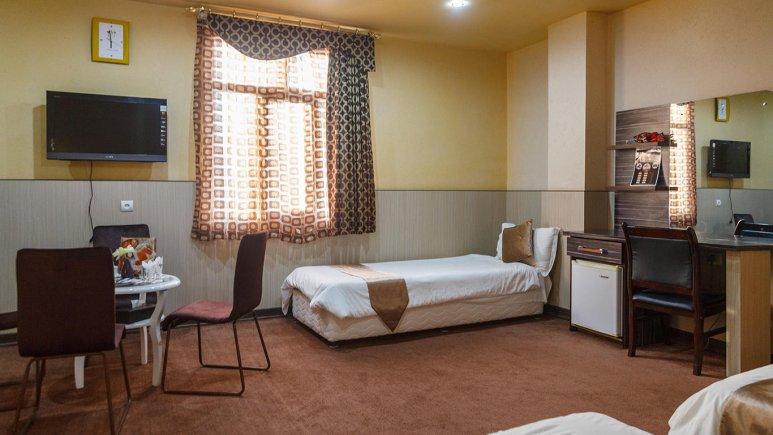 هتل مارینا 2 قشم فضای داخلی اتاق ها
