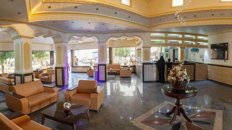 هتل ساحل طلایی قشم لابی
