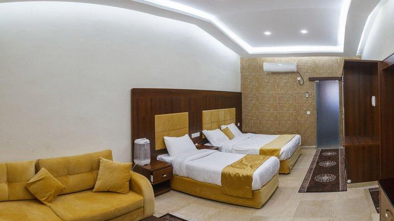 هتل ساحل طلایی قشم اتاق سه تخته 1