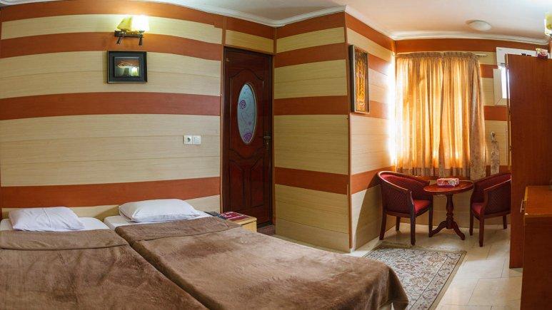 هتل شمس قشم اتاق دو تخته دابل 1