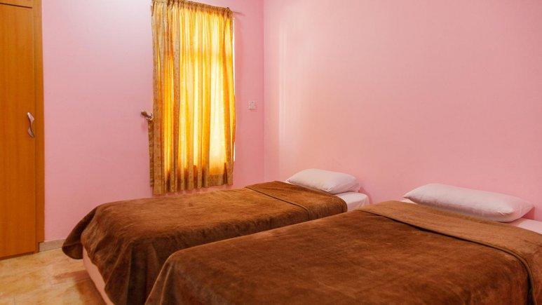 هتل شمس قشم اتاق دو تخته تویین