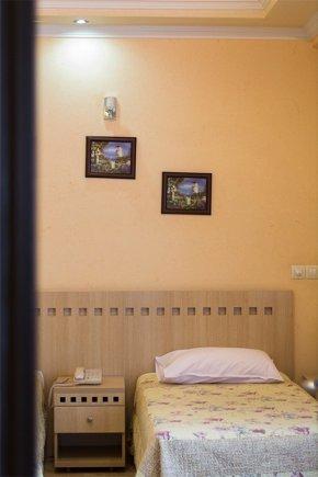نمای داخلی اتاق هتل آپارتمان مهرگان