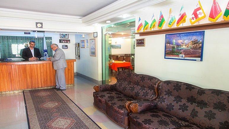 پذیرش هتل جهانگردی خوی