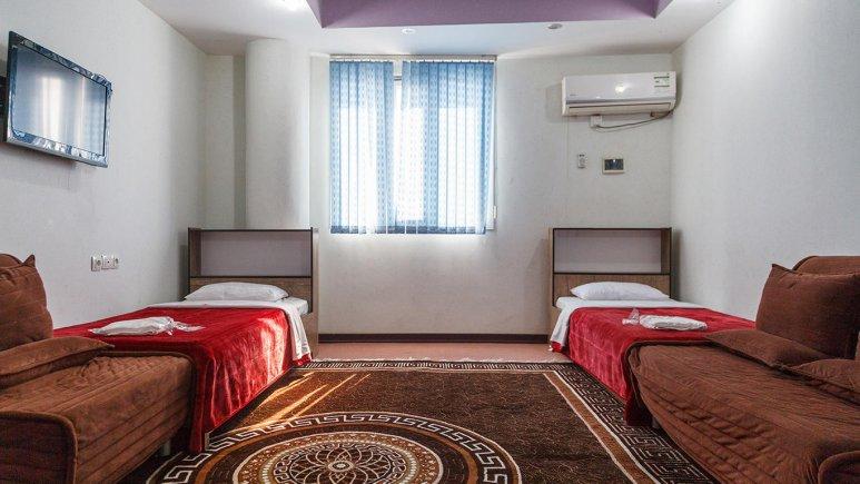 هتل سان سیتی قشم اتاق دو تخته تویین