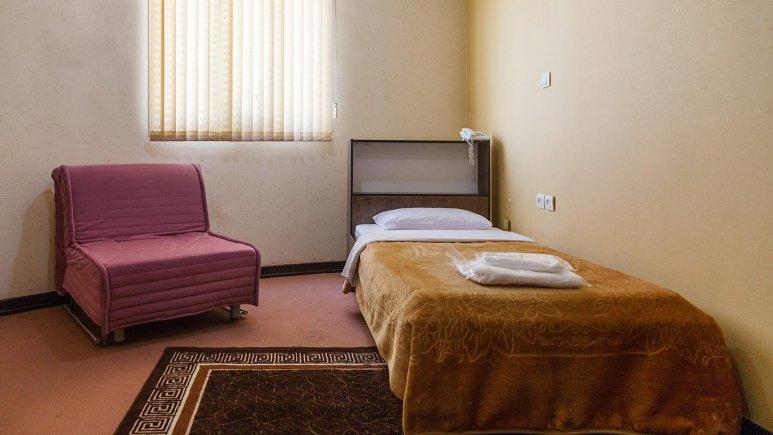 هتل سان سیتی قشم اتاق یک تخته