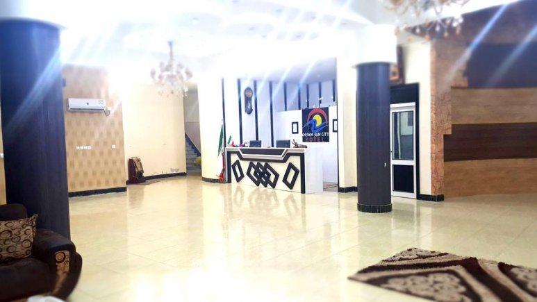 لابی هتل سان سیتی