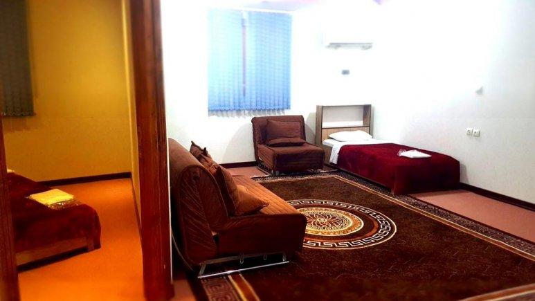 اتاق یک تخته هتل سان سیتی