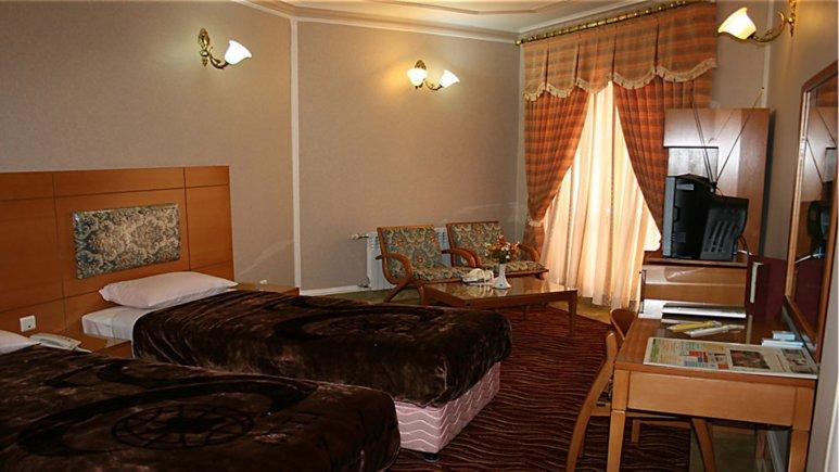 اتاق دو تخته هتل جهانگردی بیرجند