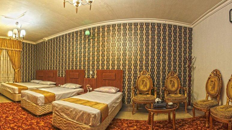سوییت یک خوابه چهار تخته هتل بوستان