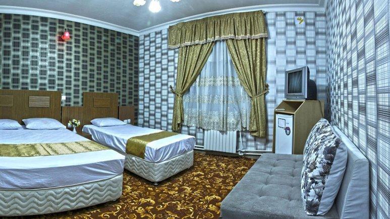 اتاق سه تخته هتل بوستان