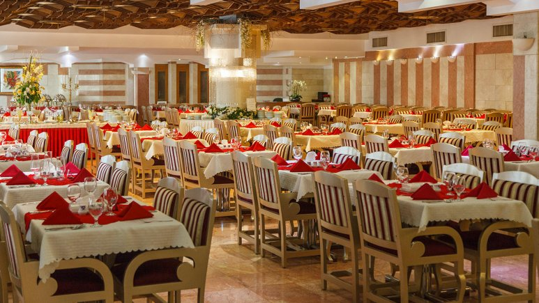 هتل اترک مشهد رستوران 2