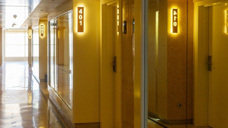 هتل اترک مشهد فضای داخلی هتل