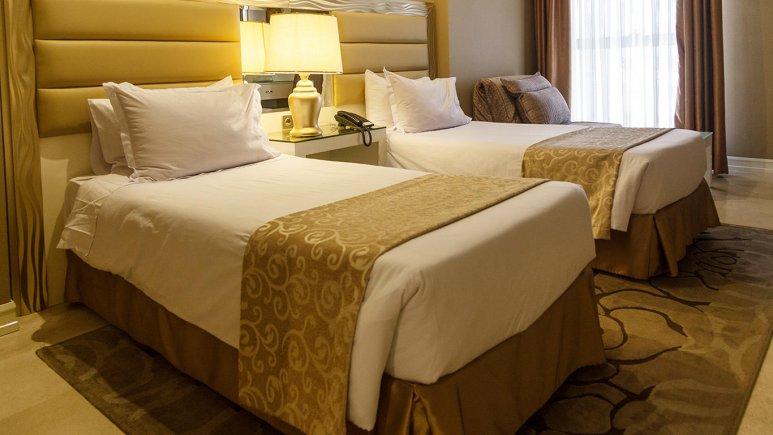 هتل اترک مشهد اتاق دو تخته تویین 2
