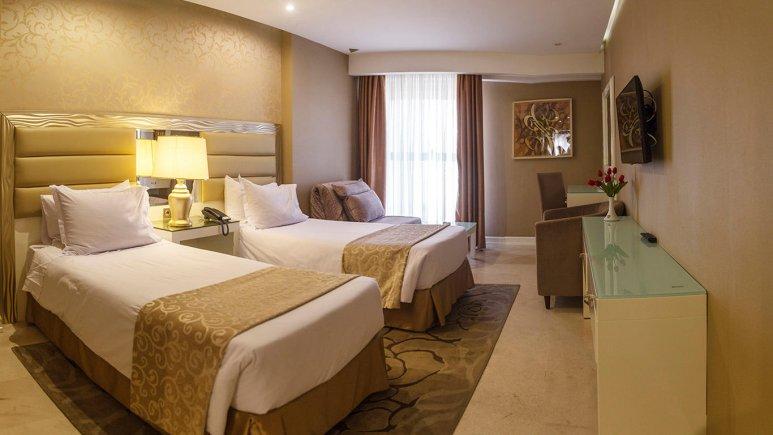 هتل اترک مشهد اتاق تویین 4