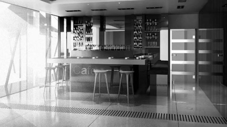 کافی شاپ هتل اترک