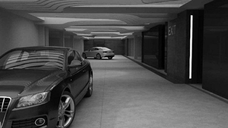 پارکینگ هتل اترک