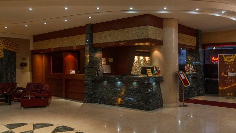 هتل عماد مشهد پذیرش