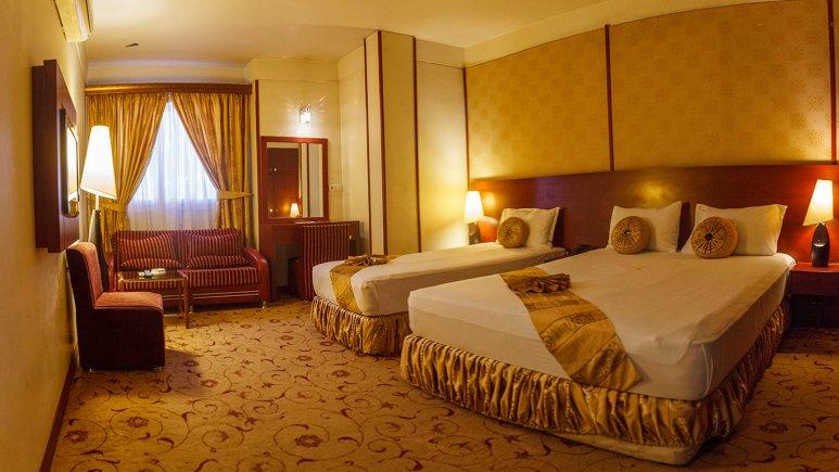 هتل عماد مشهد اتاق سه تخته 3