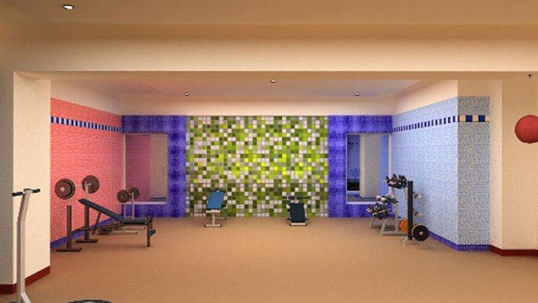 سالن بدن سازی هتل بزرگ مراغه