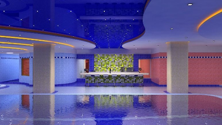 استخر هتل بزرگ مراغه