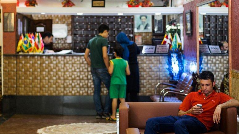 هتل آپارتمان رازی تهران پذیرش