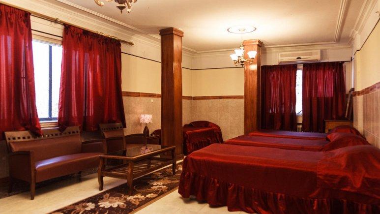 هتل آپارتمان رازی تهران سوئیت چهار تخته