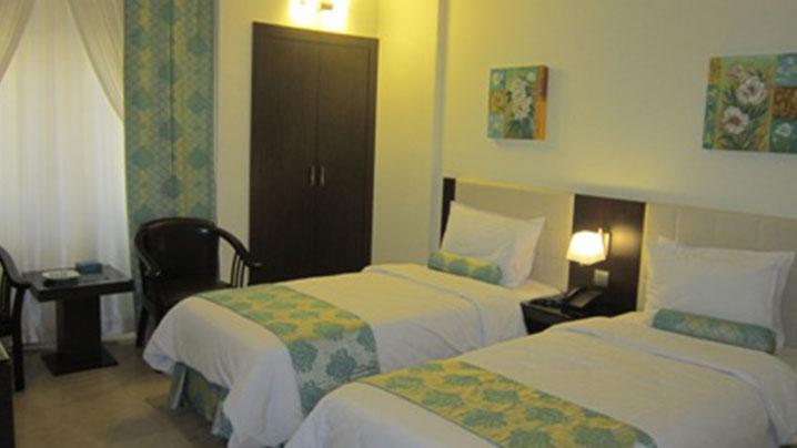 اتاق دو تخته هتل تهران