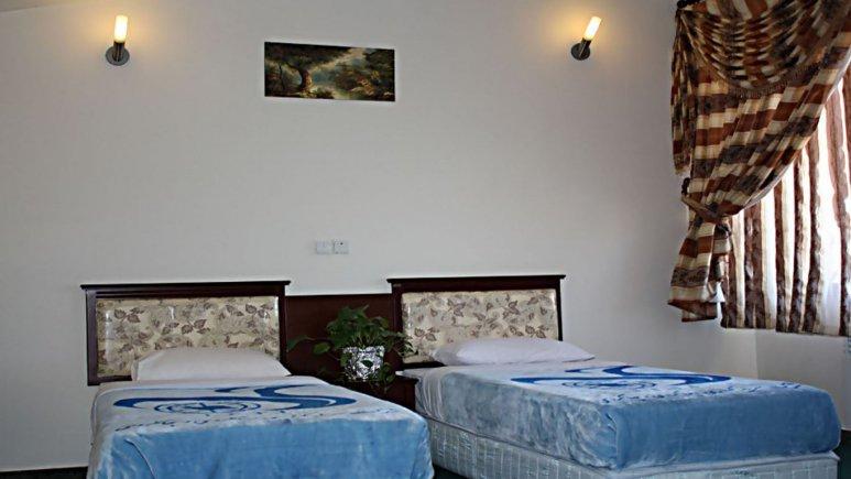 اتاق دو تخته تویین هتل جهانگردی یاسوج