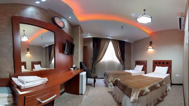 اتاق دو تخته تویین هتل امیرکبیر