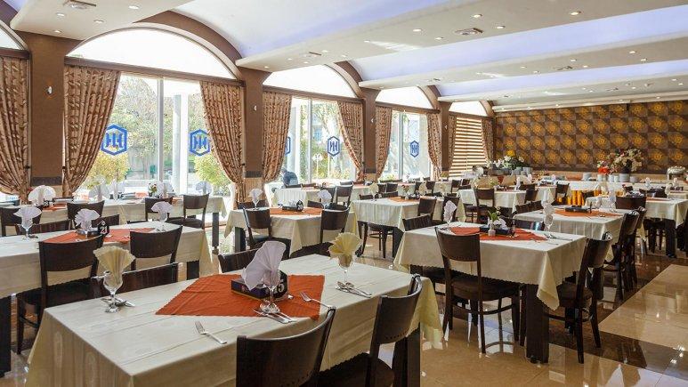 رستوران هتل بین المللی تبریز