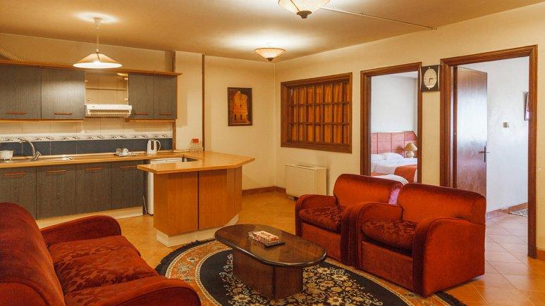 هتل خانه سبز مشهد فضای داخلی آپارتمان ها 1
