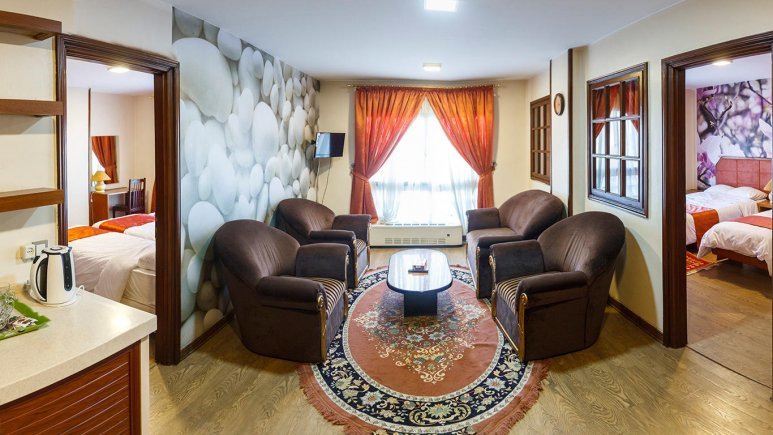 هتل خانه سبز مشهد فضای داخلی آپارتمان ها 4