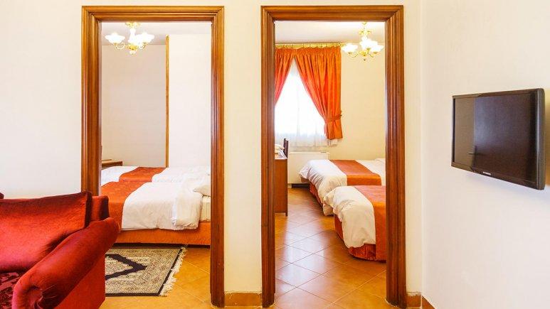 هتل خانه سبز مشهد فضای داخلی آپارتمان ها 6