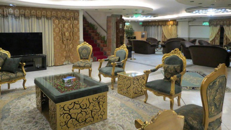 هتل خانه سبز مشهد لابی
