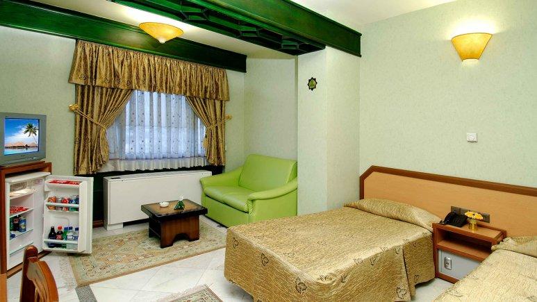 اتاق دو تخته  تویین هتل خانه سبز