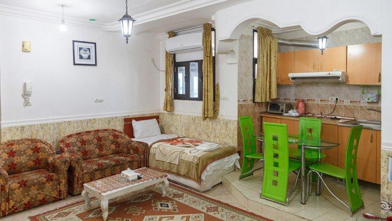 هتل آپارتمان شادناز 1 قشم فضای داخلی سوئیت ها 1