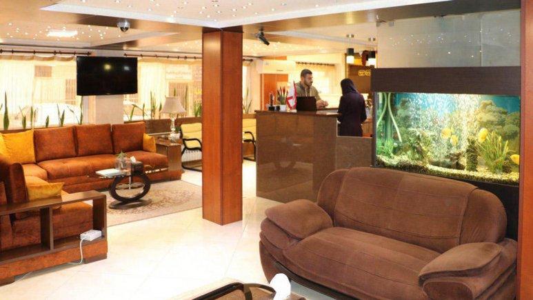 هتل شبستان رشت لابی 3