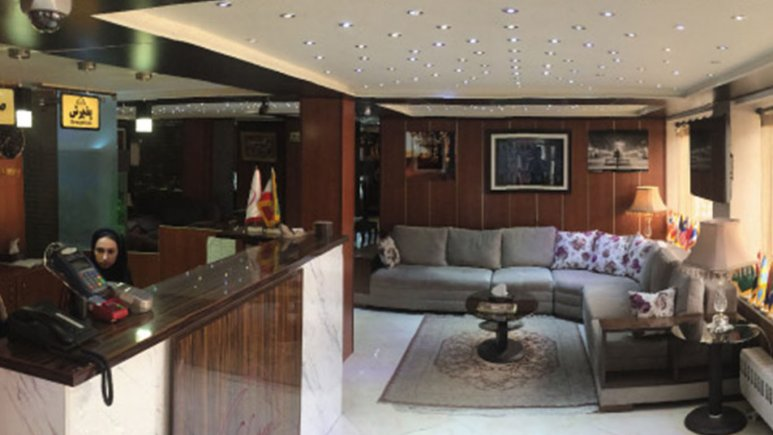هتل شبستان رشت لابی 2