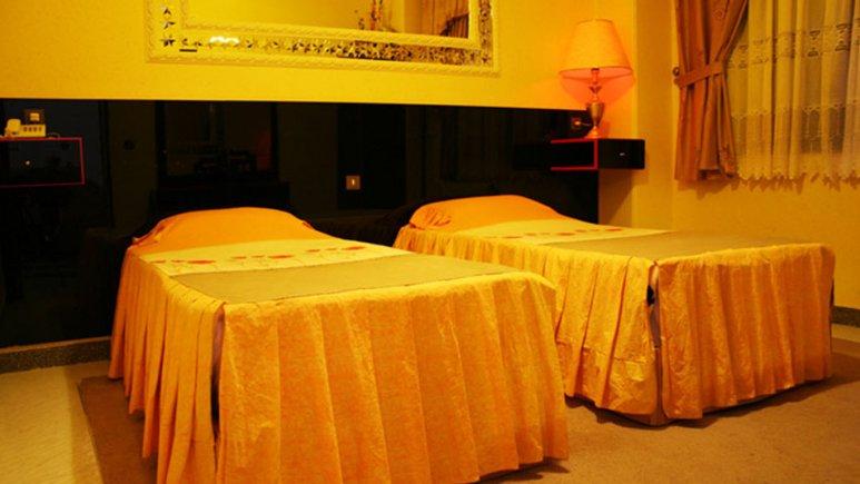 اتاق دو تخته تویین هتل اترک