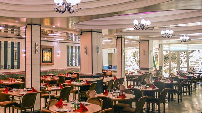 رستوران هتل باختر