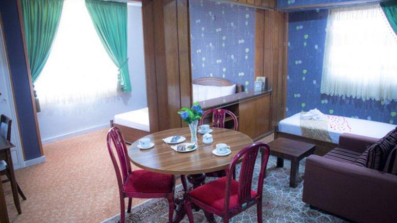 اتاق دو تخته هتل باختر