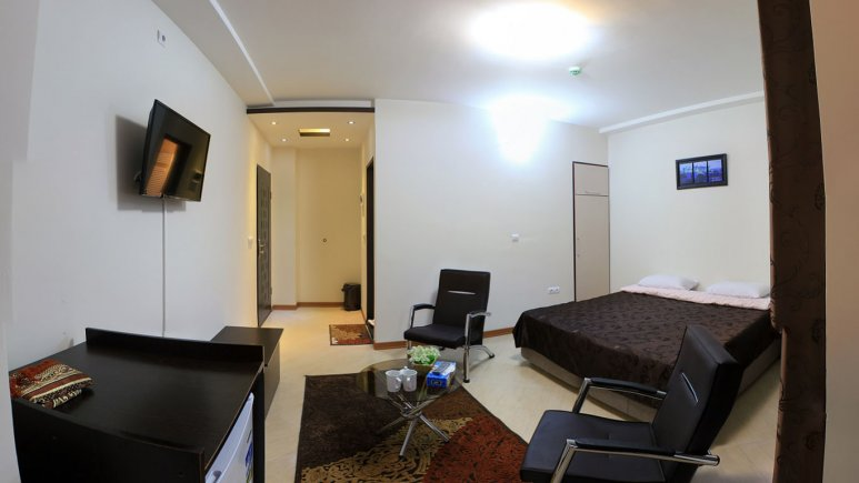 اتاق دو تخته دبل هتل پدرام