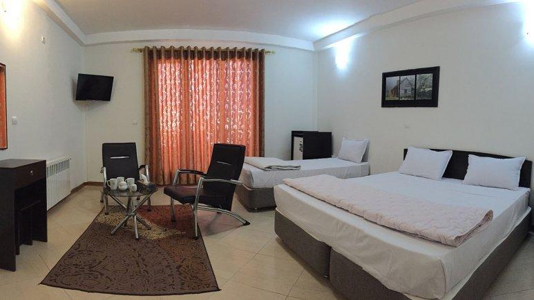 اتاق سه تخته هتل پدرام