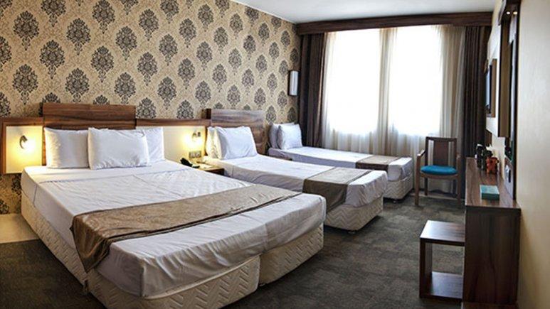 اتاق چهار تخته هتل هاترا