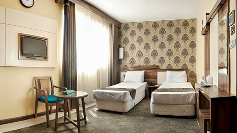 اتاق دو تخته تویین هتل هاترا