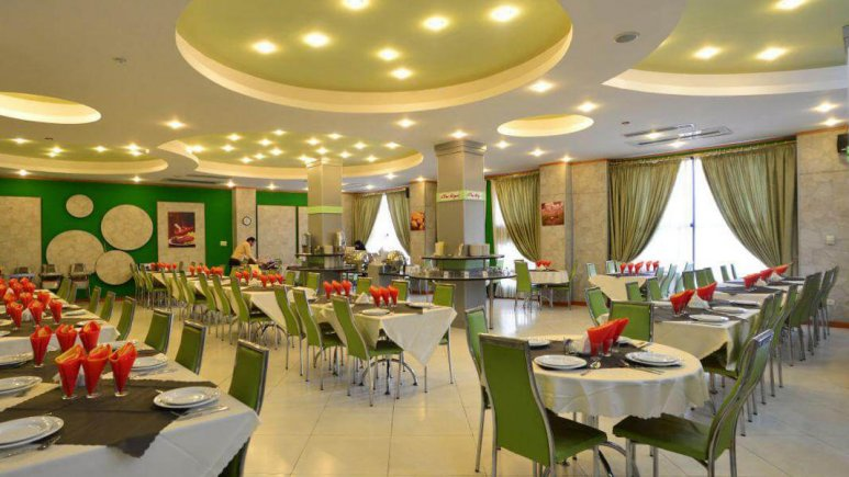 هتل پردیس مبارکه اصفهان رستوران