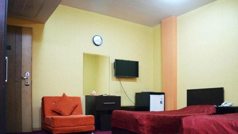 هتل پردیس مبارکه اصفهان اتاق دو تخته تویین 1