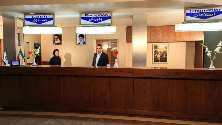 پذیرش هتل جهانگردی نهار خوران